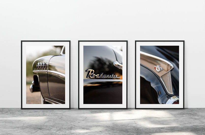 Print Nº 19 - Set of 3 Buick Roadmaster