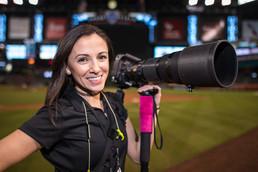 Female Sports Photographer