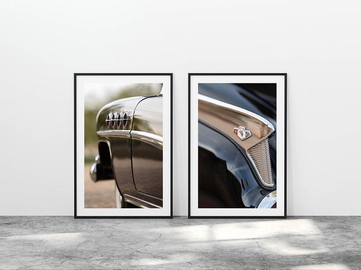 Print Nº 20 - Set of 2 Buick Roadmaster Details