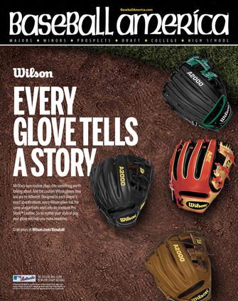Baseball America Wilson Gloves