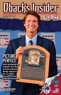 Randy Johnson Dbacks Insider Cover