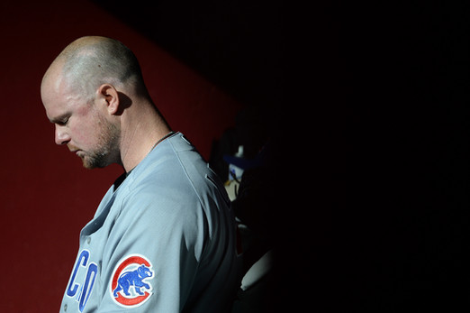 Lester takes a moment