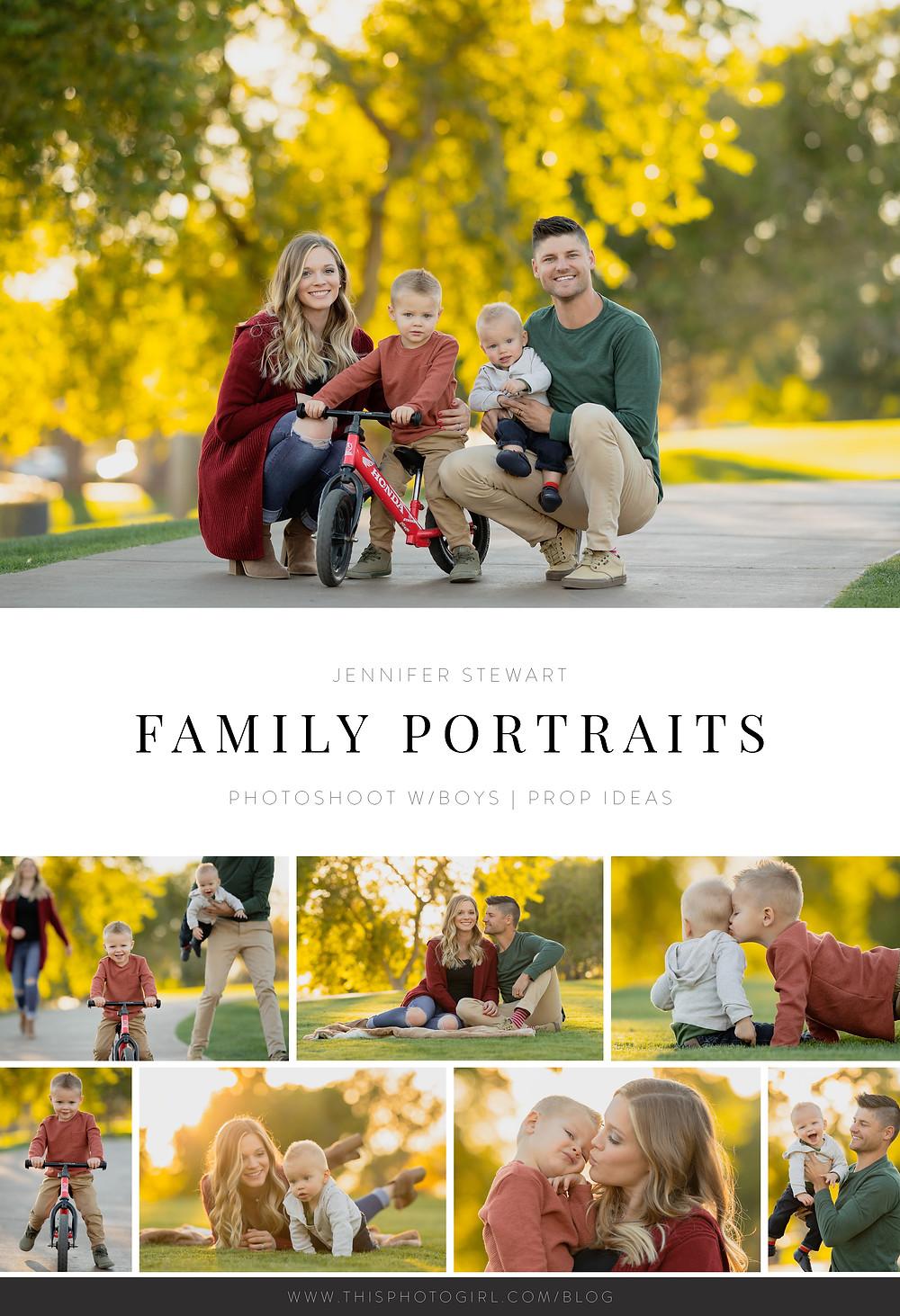 Family Portraits College