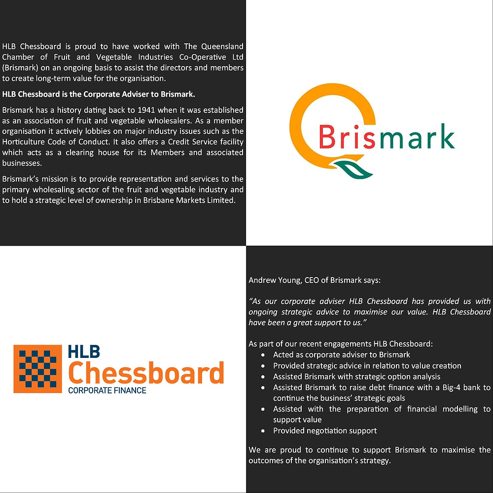 Brismark Advisory Client