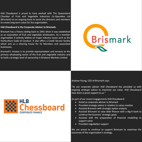 Supporting Brismark's M&A Strategy and Value Creation