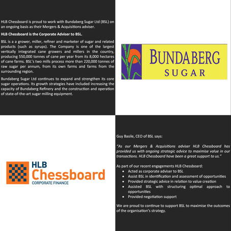 Executing Bundaberg Sugar's M&A Strategy