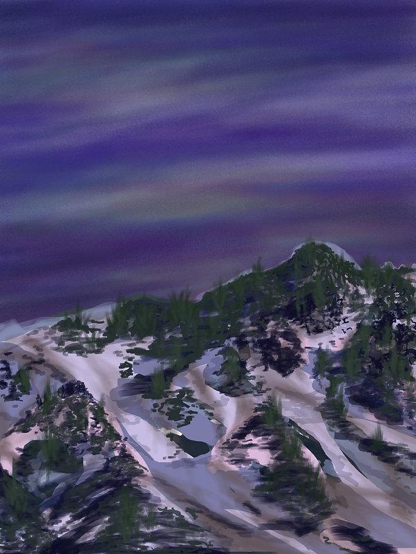 lana duval peinture numérique art contemporain