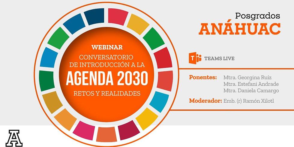 Conversatorio de introducción a la agenda 2030- Retos y Realidades