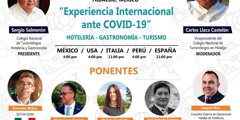 Experiencia Internacional ante el COVID-19