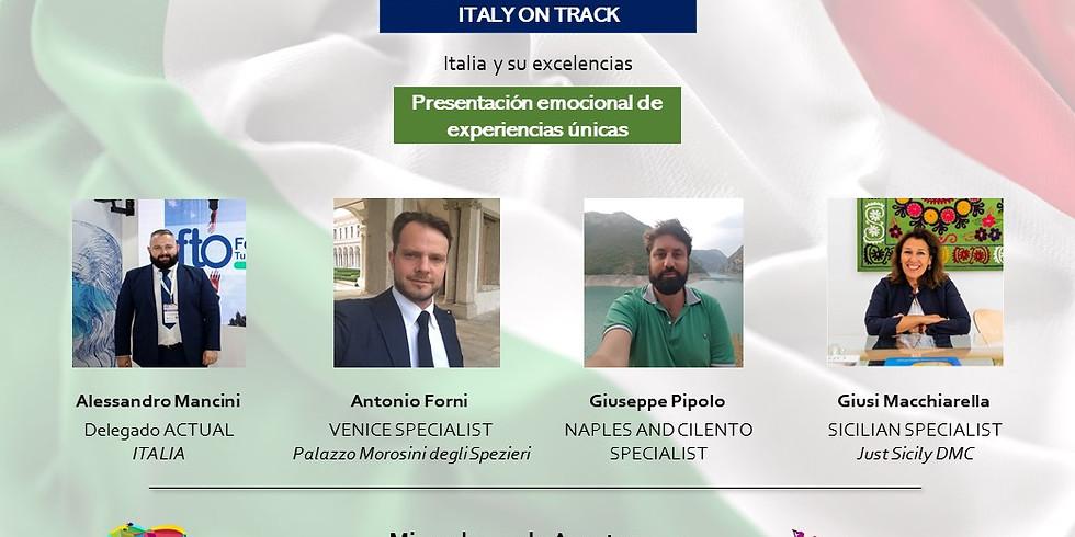 Presentación emocional  de experiencias únicas -Italia y sus excelencias-