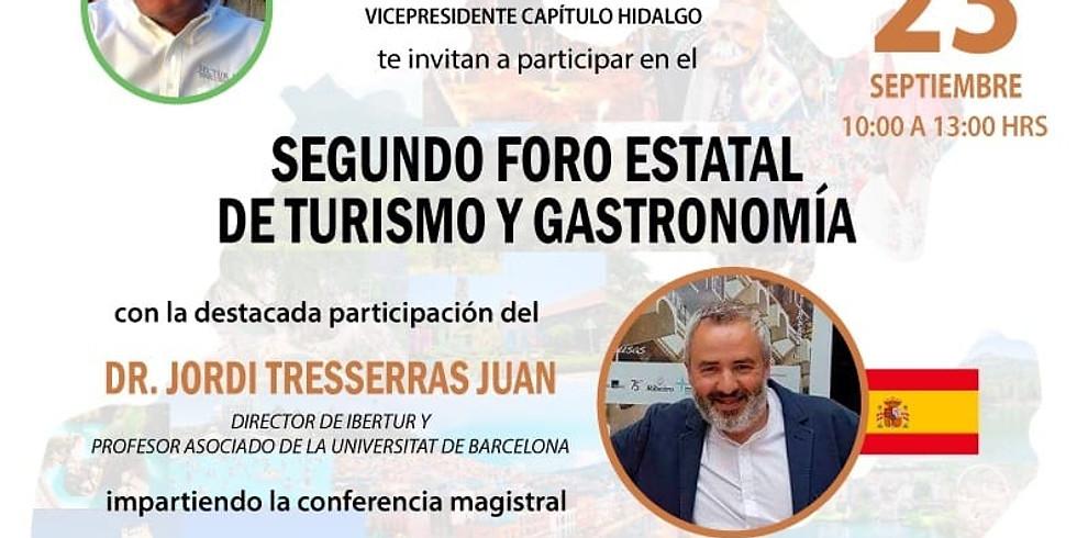 Segundo Foro Estatal de Turismo y Gastronomía