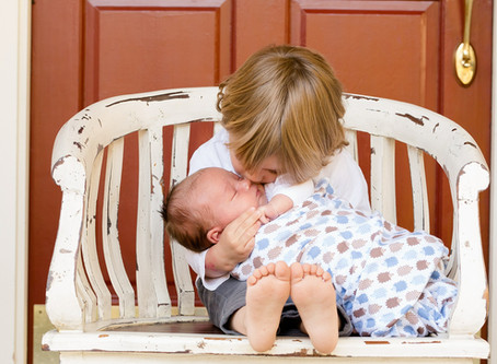 How to Help Your Toddler Adjust to Life with a Sibling