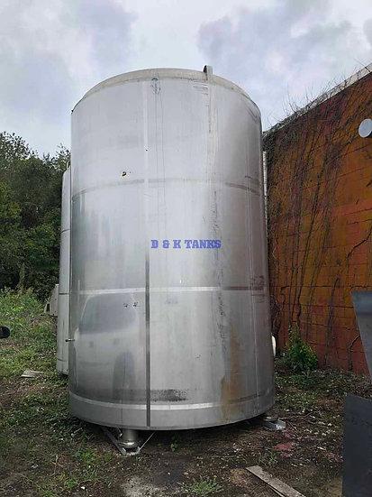 5,000 Gallon Stainless Steel Tanks SKU385