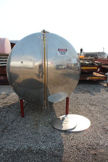1,500 Gallon Stainless Steel Tank SKU363