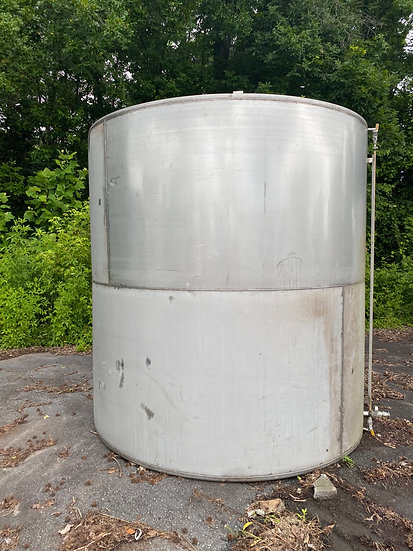 3,400 Gallon Stainless Steel Tank SKU410