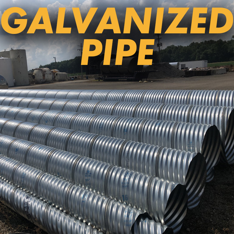 Galvanized Culvert Steel Pipe