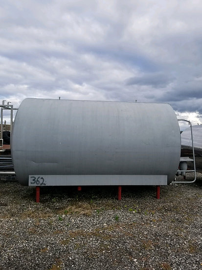 6,000 Gallon Stainless Steel Tank SKU362