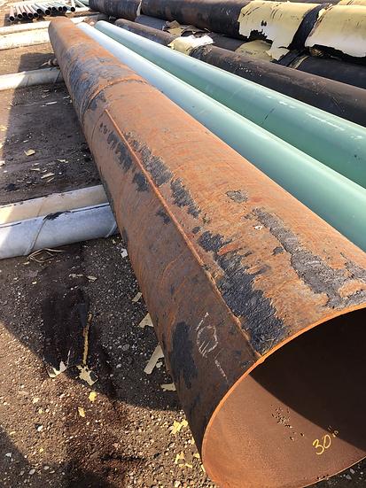 """30"""" x .375 WT steel pipe"""