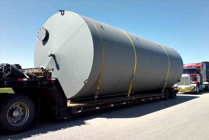 New Carbon Steel Tanks
