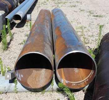 "20"" Unused Pipe"