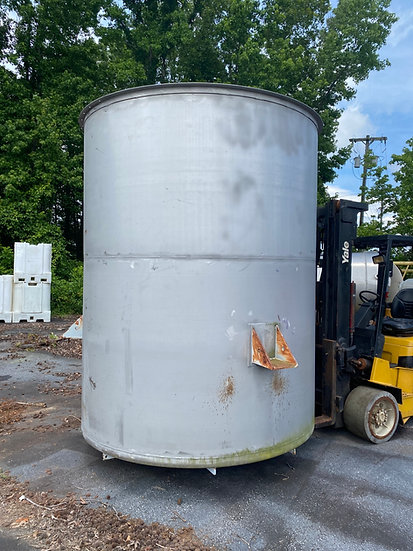 3,000 Gallon - 316L Stainless Steel Tank SKU407