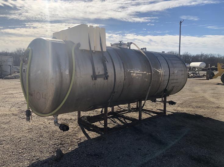 4,000 Gallon Stainless Steel Tank SKU436