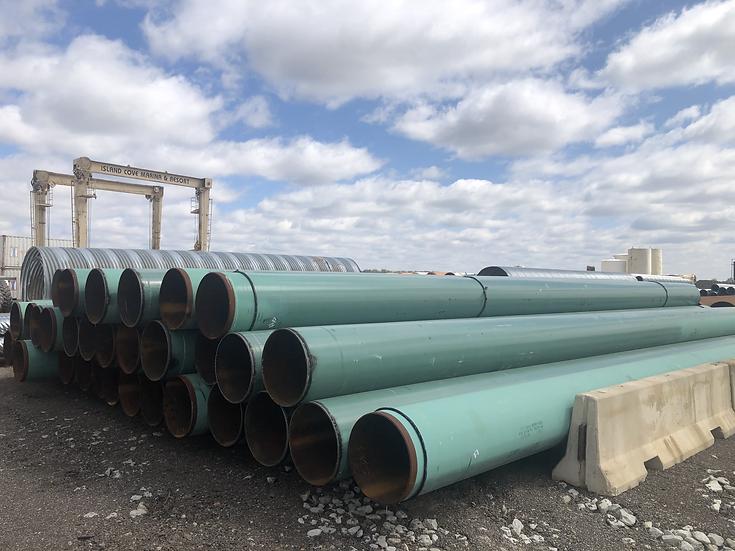 """24"""" x .375 WT steel pipe"""