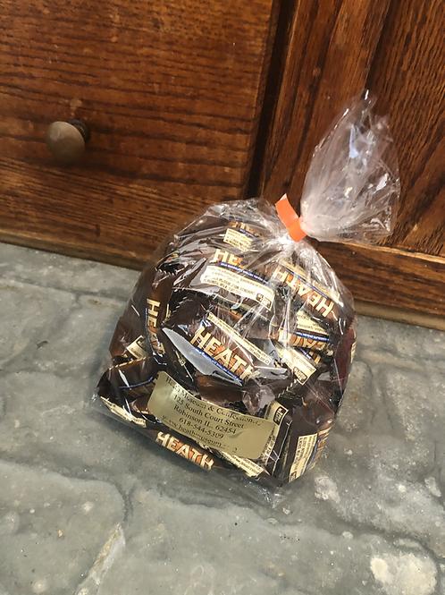 HEATH Chocolate Candy, Toffee Bar, 1lb Bag