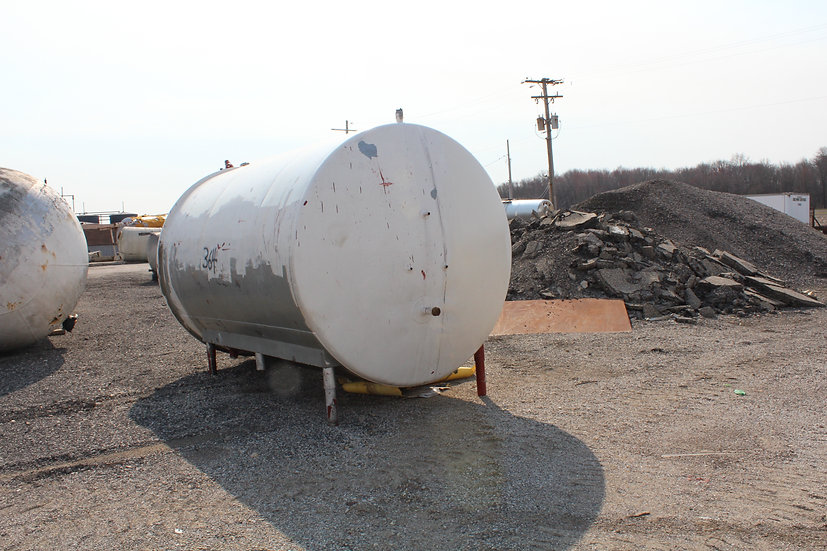 4,000 Gallon Stainless Steel Tank SKU364