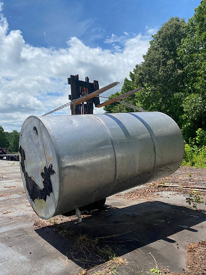 3,300 Gallon Stainless Steel Tank SKU408