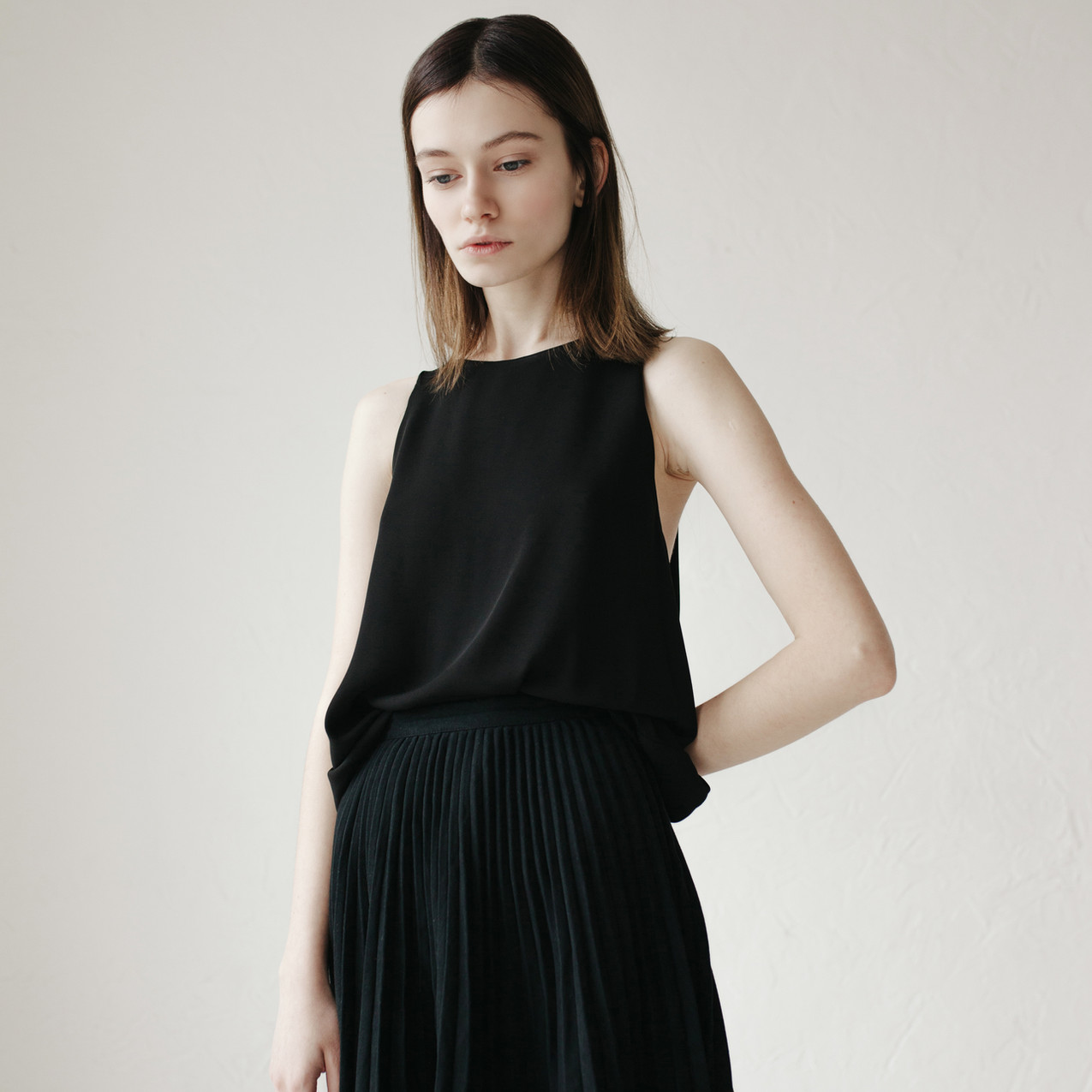 Model in Black