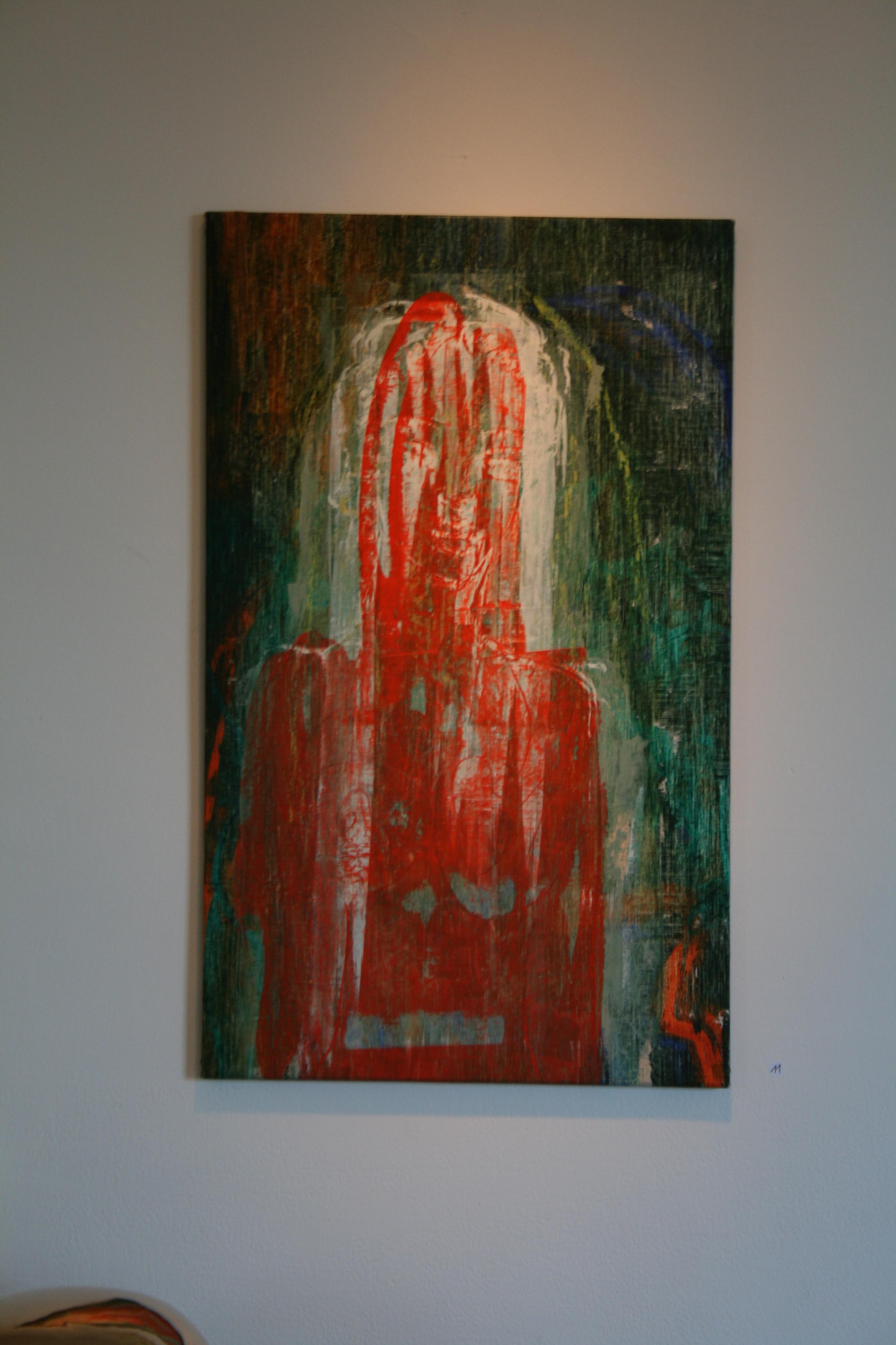 Frau in grün, Nr. 22