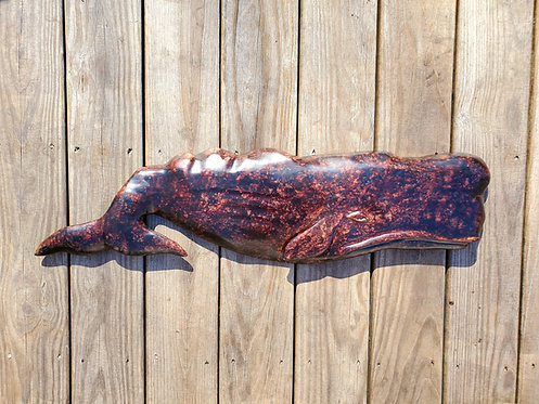 Black Sperm Whale 33 inches in length
