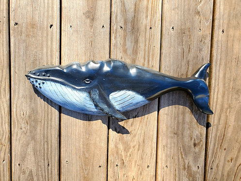 Humpback Whale 21 inches by 7 inches