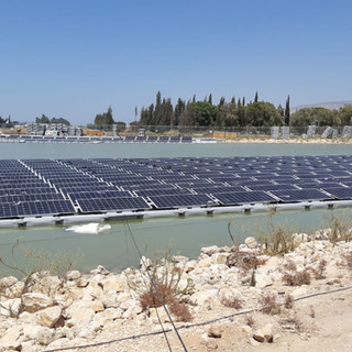 Ashdot Yaakov Ihud reservoir -  350 kW