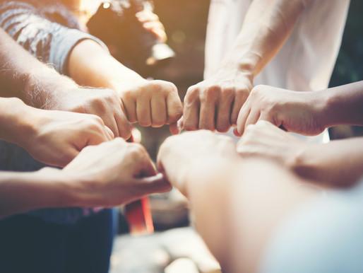לקבוצה מאוגדת קל יותר להשיג יעדים