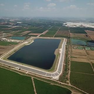 Northern Hefer reservoir -  700 kW