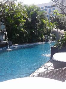 Bangalore Ritz Carlton Pool Foliage.jpg