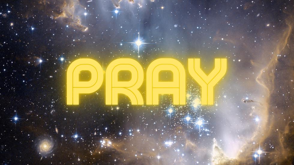 Poster:  Pray