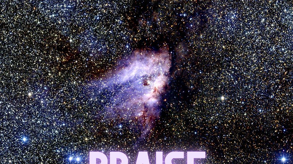 Poster:  Intergalactic Praise