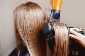 Close-up of hair dryer, concept barber s