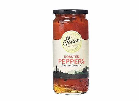 Cypressa Roasted Red Peppers 465g
