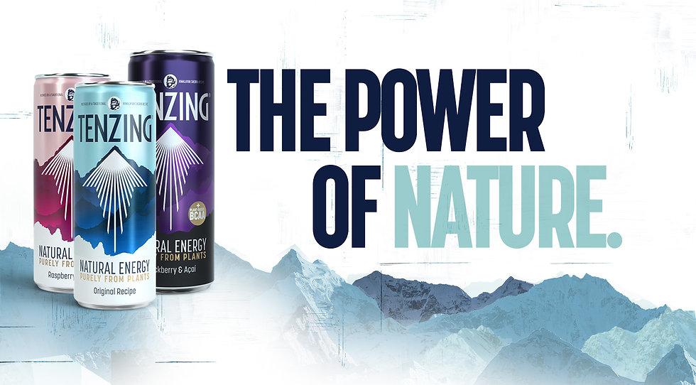Tenzing Energy Drinks Range Three Flavou