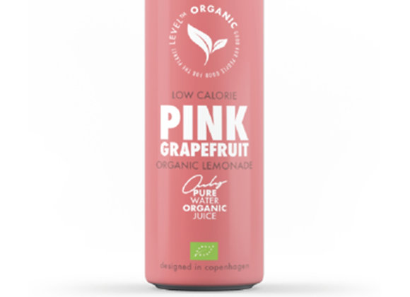 Level Organic Pink Grapefruit 250ml Can