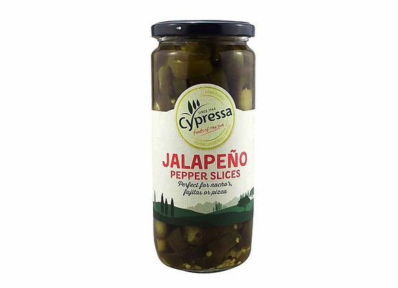 Cypressa Jalapeno Pepper Slices 480g