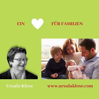 Ein Herz für Familien com Website Eltern