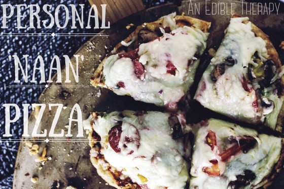 """PERSONAL """"NAAN"""" PIZZA"""