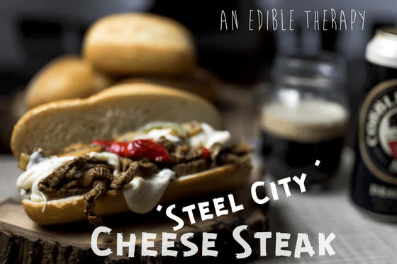 """STEEL CITY"" CHEESE STEAK"