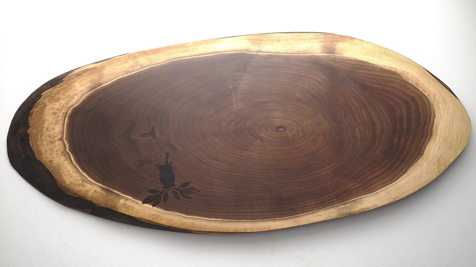 "23.5"" x 10"" Black Walnut"