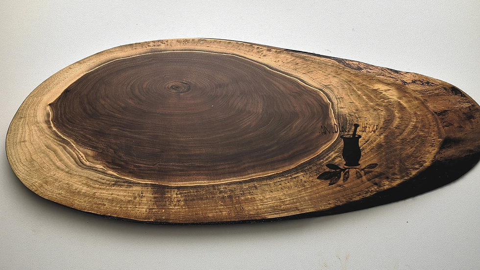 "20.5"" x 8"" Black Walnut"